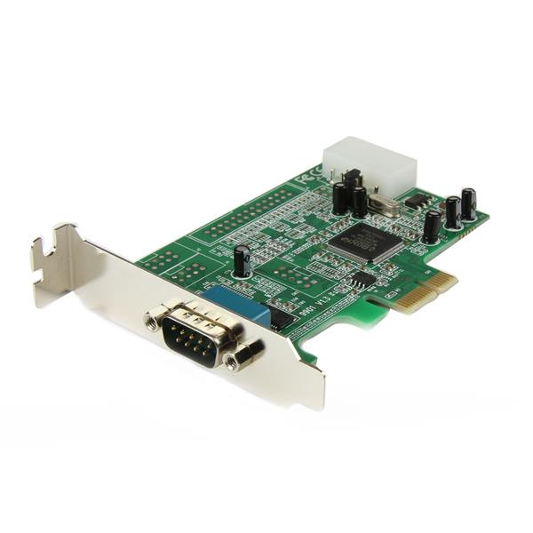 Pex1s553lp Startech.com 1 Port Low Profile Native Rs232 Pci Express Serial Card With 16550 Uart - Ent01