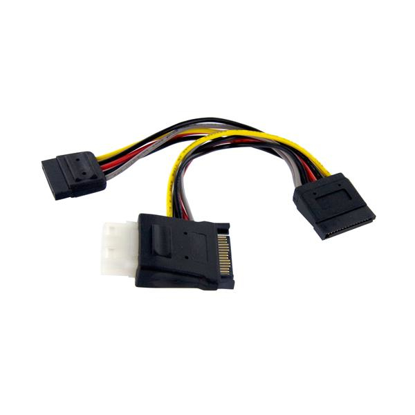Pyolp42sata Startech.com Sata To Lp4 With 2x Sata Power Splitter Cable - Ent01