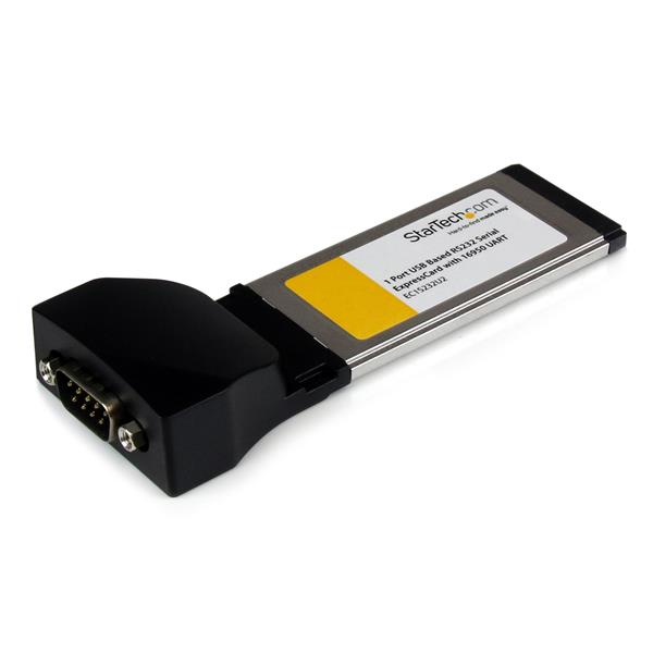 Ec1s232u2 Startech.com 1 Port Expresscard To Rs232 Db9 Serial Adaptor Card With 16950 - Usb Based - Ent01