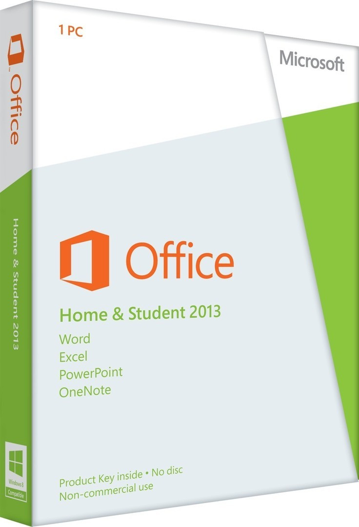 79g-03549 Microsoft Office Home And Student 2013 32-bit/x64 (english) Eurozone Medialess - Ent01