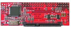 KONV-IDE/SATA MicroConnect Converter 40 pins IDE to SATA SATA HD against ATA Controller - eet01