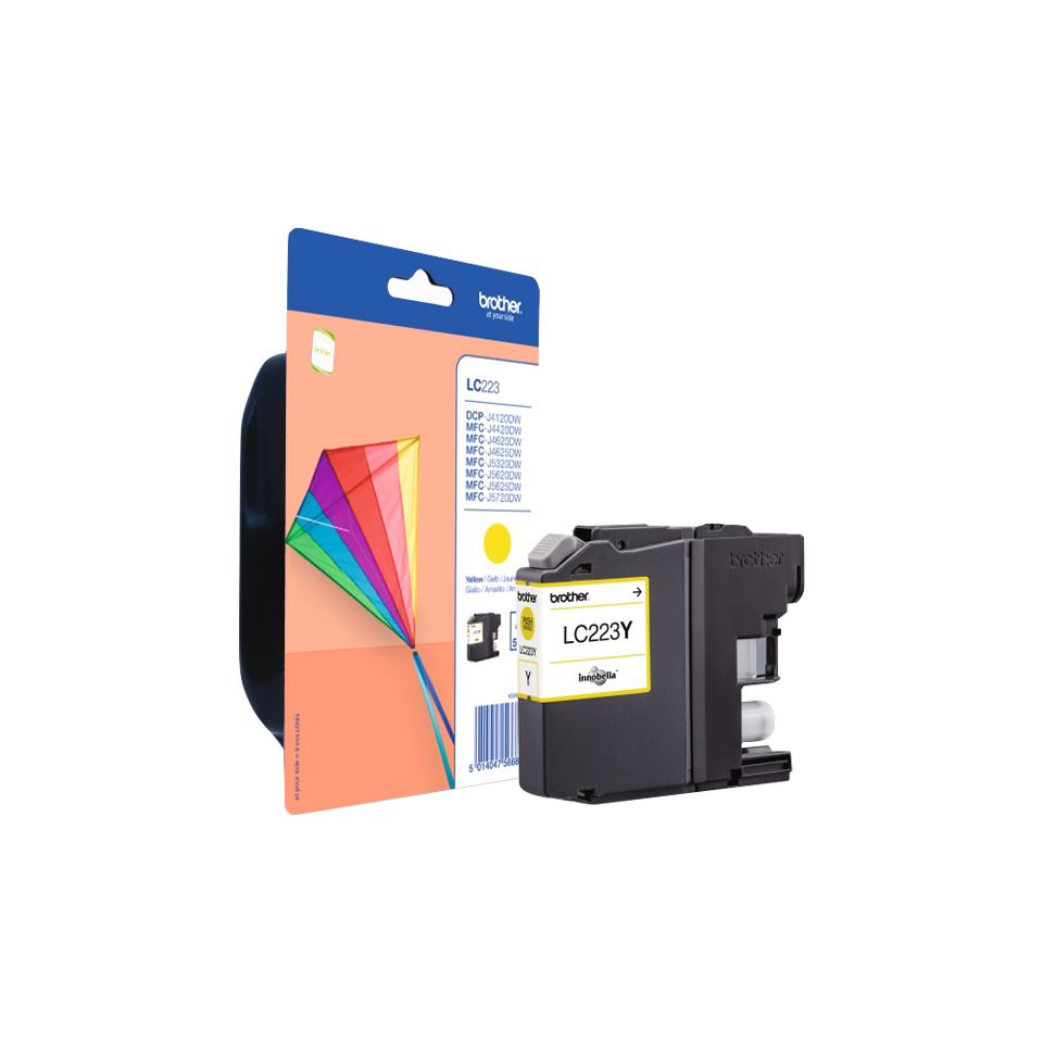 Lc223y brother Lc223 Yellow Stand Ink Cart - AD01
