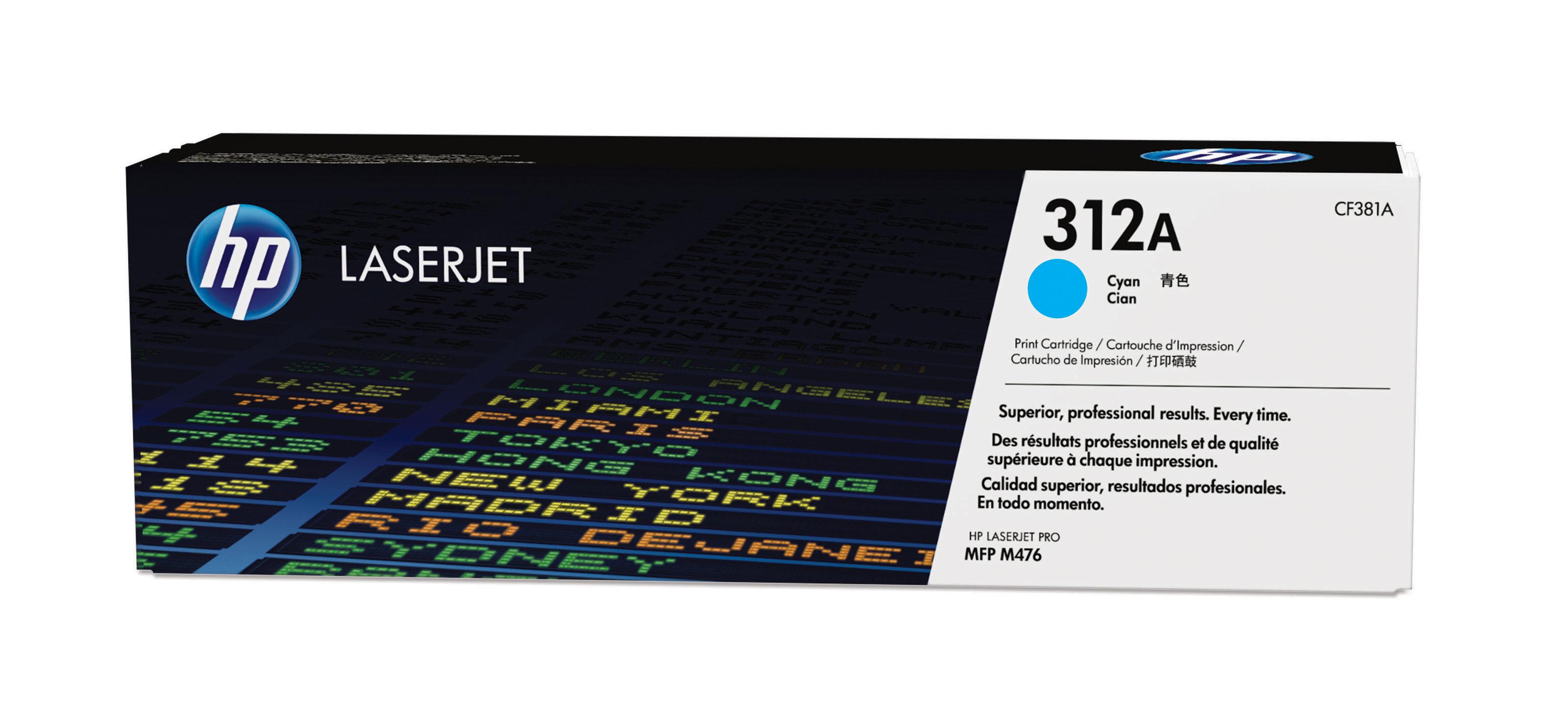 Cf381a HP Hp Cyan Toner Cartridge (312a) - AD01