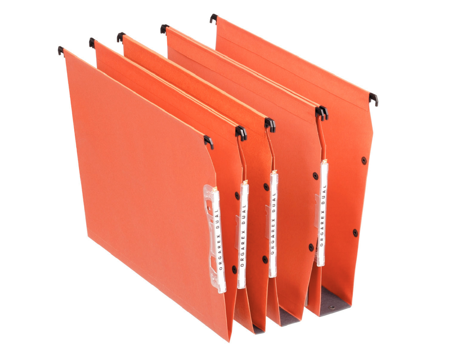 21627 esselte Esselte Orgarex Lateral File V-base A4 Orange 21627 (pk25) - AD01