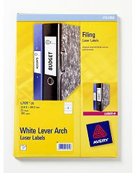 L7171-25 avery Avery Lever Arch Filing Labels 200x60mm J7171-25 (100labels) - AD01