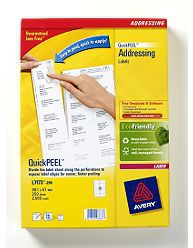 L7173-250 avery Avery Quickpeel Address Label 99x57mm L7173-250 (2500labels) - AD01