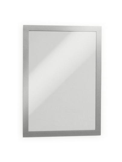 487223 durable Durable Magaframe Self Adhesive A4 Silver 487223 (pk2) - AD01