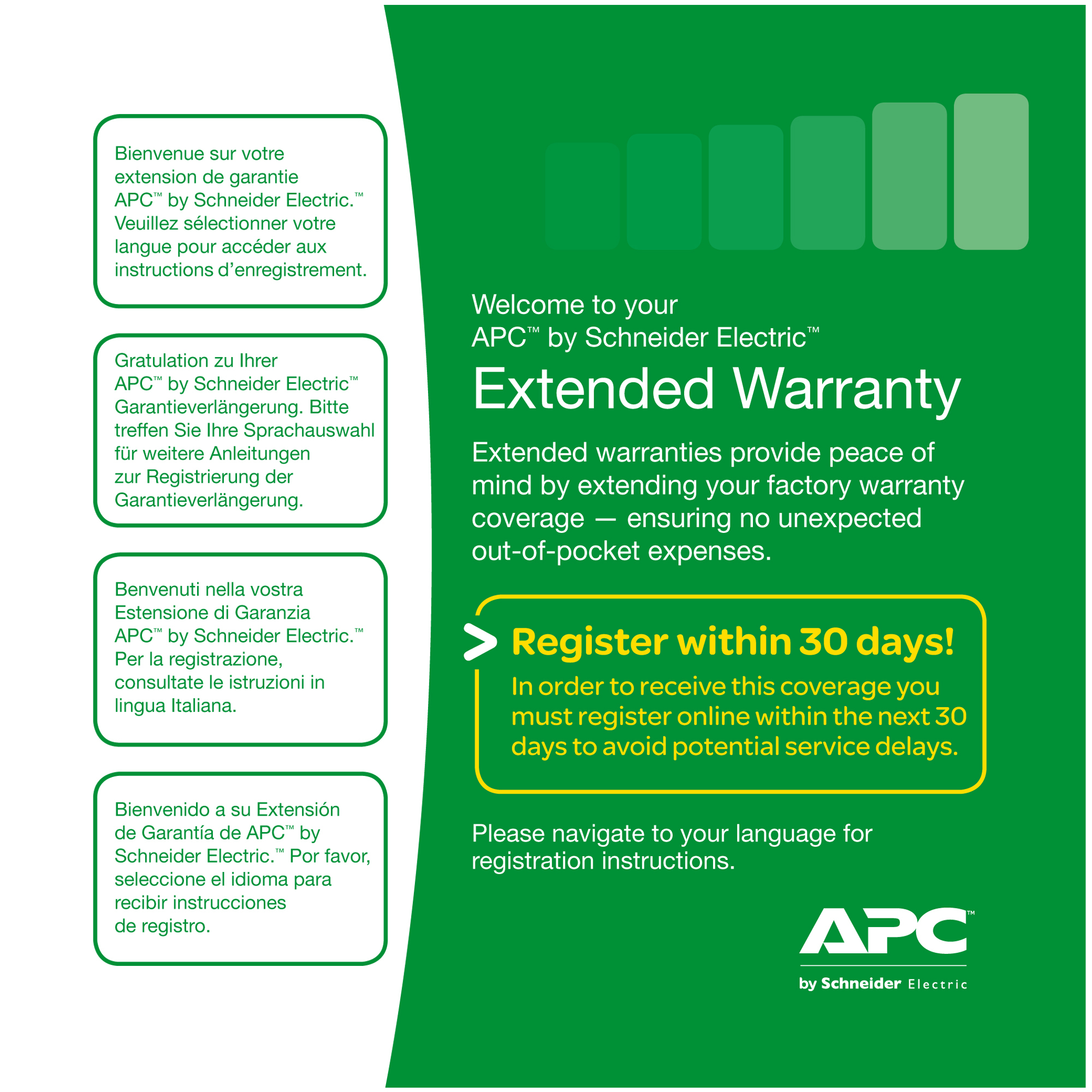 WBEXTWAR3YR-SP-02 Apc Service Pack 3 Year Warranty Extension (for New Product Purchases)  *** SPECIAL DELIVERY REQUIRED - CALL SALES FOR WARRANTY FORM** - C2000