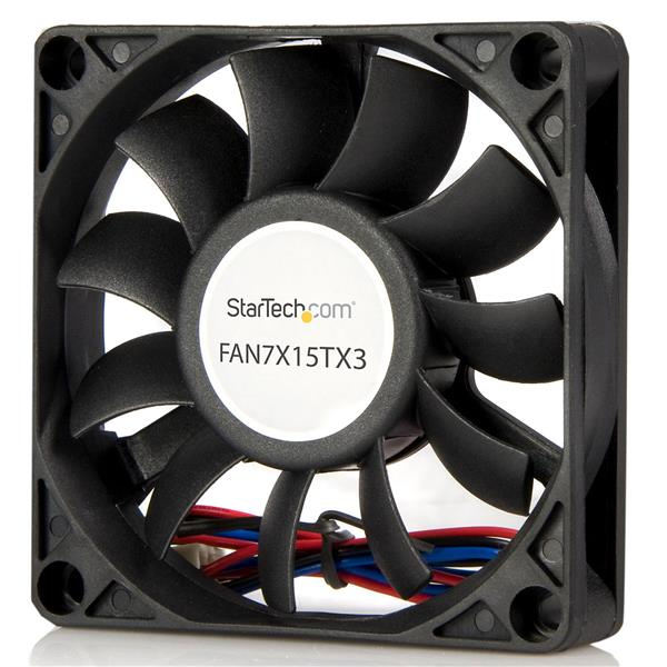 Fan7x15tx3 Startech.com 70x15mm Replacement Ball Bearing Computer Case Fan With Tx3 Connector - Ent01