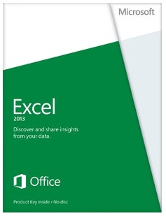 065-07515 Microsoft EXCEL 2013 MEDIALESS