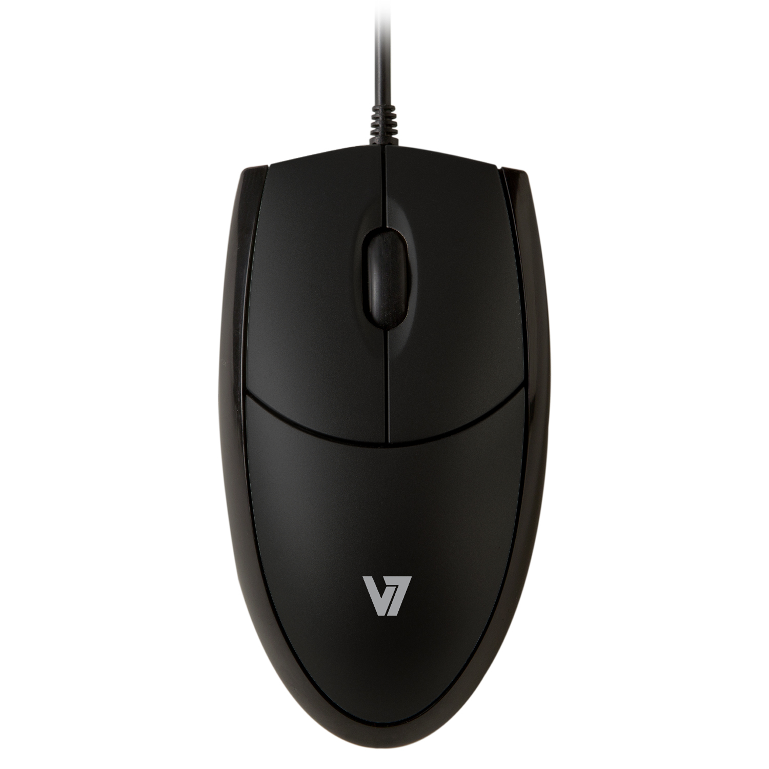 Mv3000010-blk-5e V7 V7 Mouse Optical All Black          Usb 3 Button Wheel Mouse 1000dpi