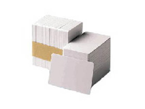 104523-113 Zebra 500pk 30mil Hi-co Mag Stripe        Std Pvc Blank Cards