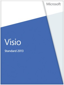 D86-04736 Microsoft Visio Std 2013 32-bit/x64 English Medialess - C2000