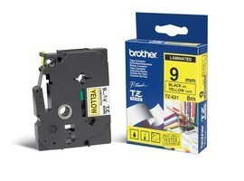 Brotz621       Brother P-touch Tze Label Tape 9mm Gloss                                                    - UF01