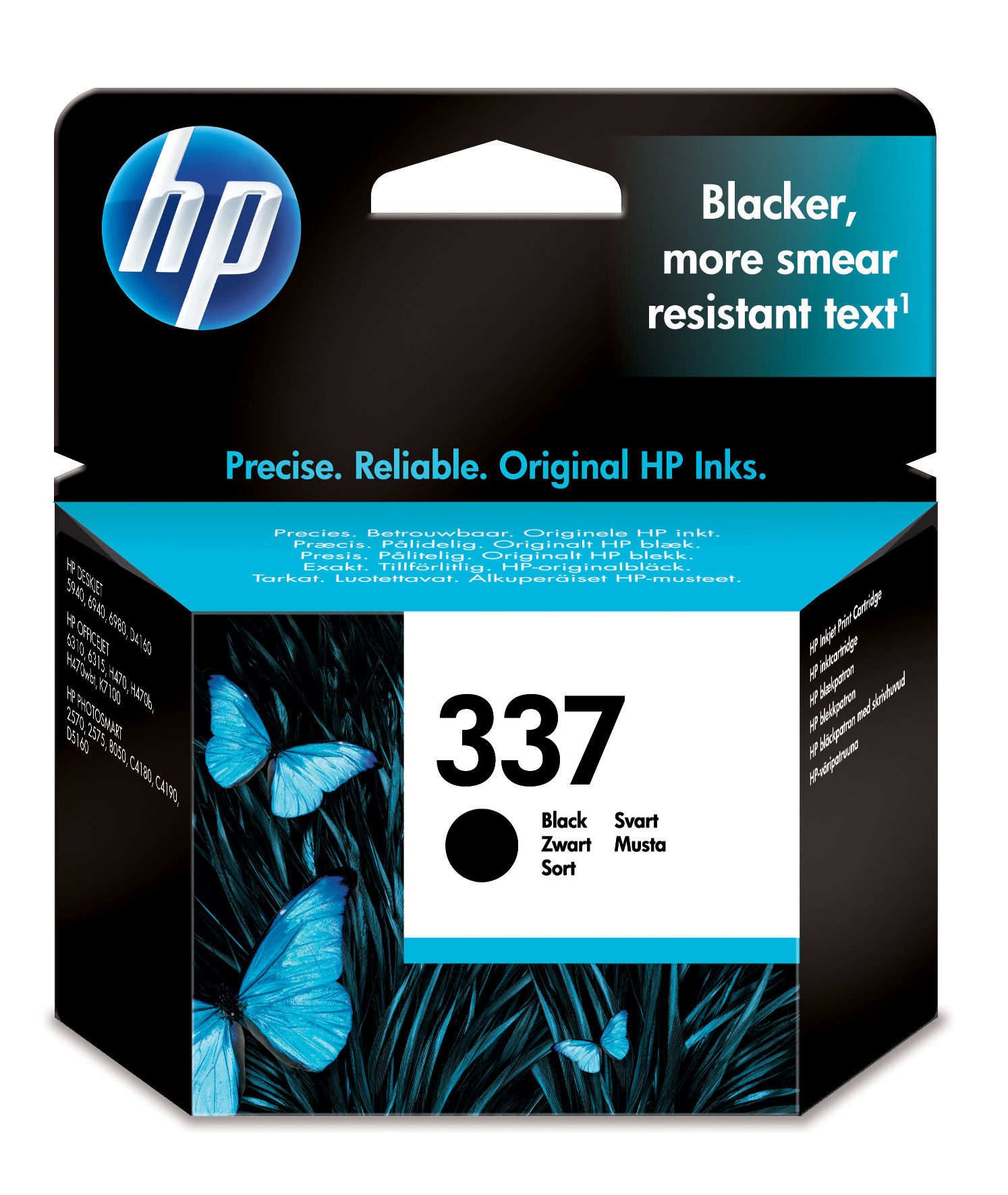 C9364EE#UUS Hp HP 337 - Print Cartridge - 1 X Black - 400 Pages - C2000