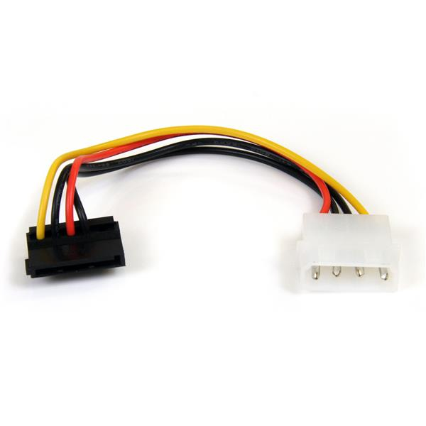 Satapowadapr Startech.com 4-pin Molex To Right Angle Sata Power Cable Adaptor (0.15m) - Ent01