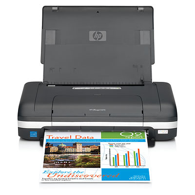 HP OfficeJet H470WBT Colour InkJet Printer CB028A - Refurbished