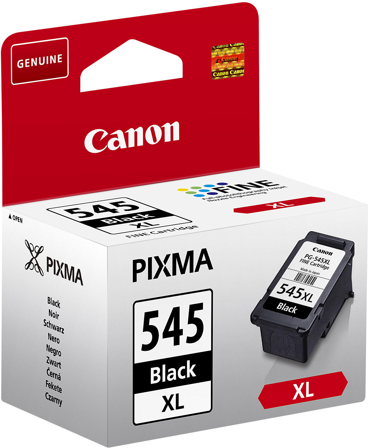 8286B001 Canon Canon PG-545XL - High Yield - Black - Original - Ink Cartridge - For PIXMA IP2850, MG2450, MG2550, MG2555, MG2950, MX495 - C2000
