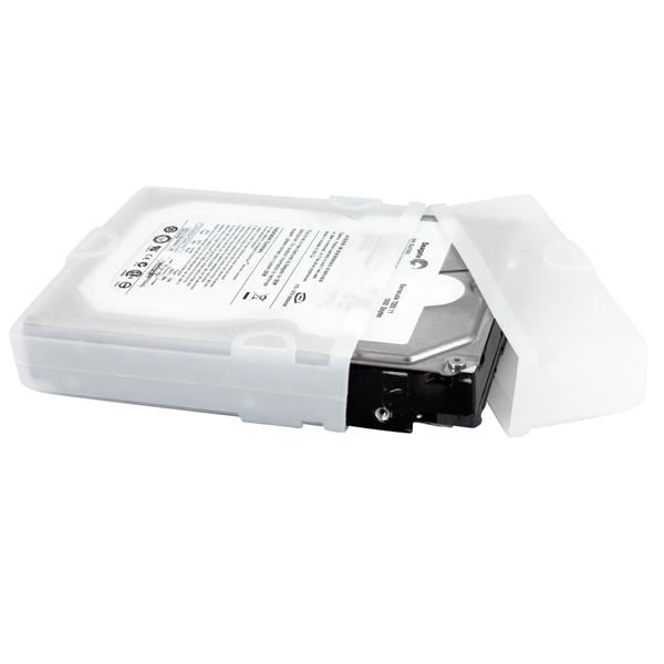 Hddslev35 Startech.com 3.5 Inch Silicon Hard Drive Protector Sleeve With Connector Cap - Ent01