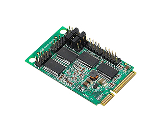 Siig 4-port Rs232 Mini Pcie Jj-e40111-s1 - NA01