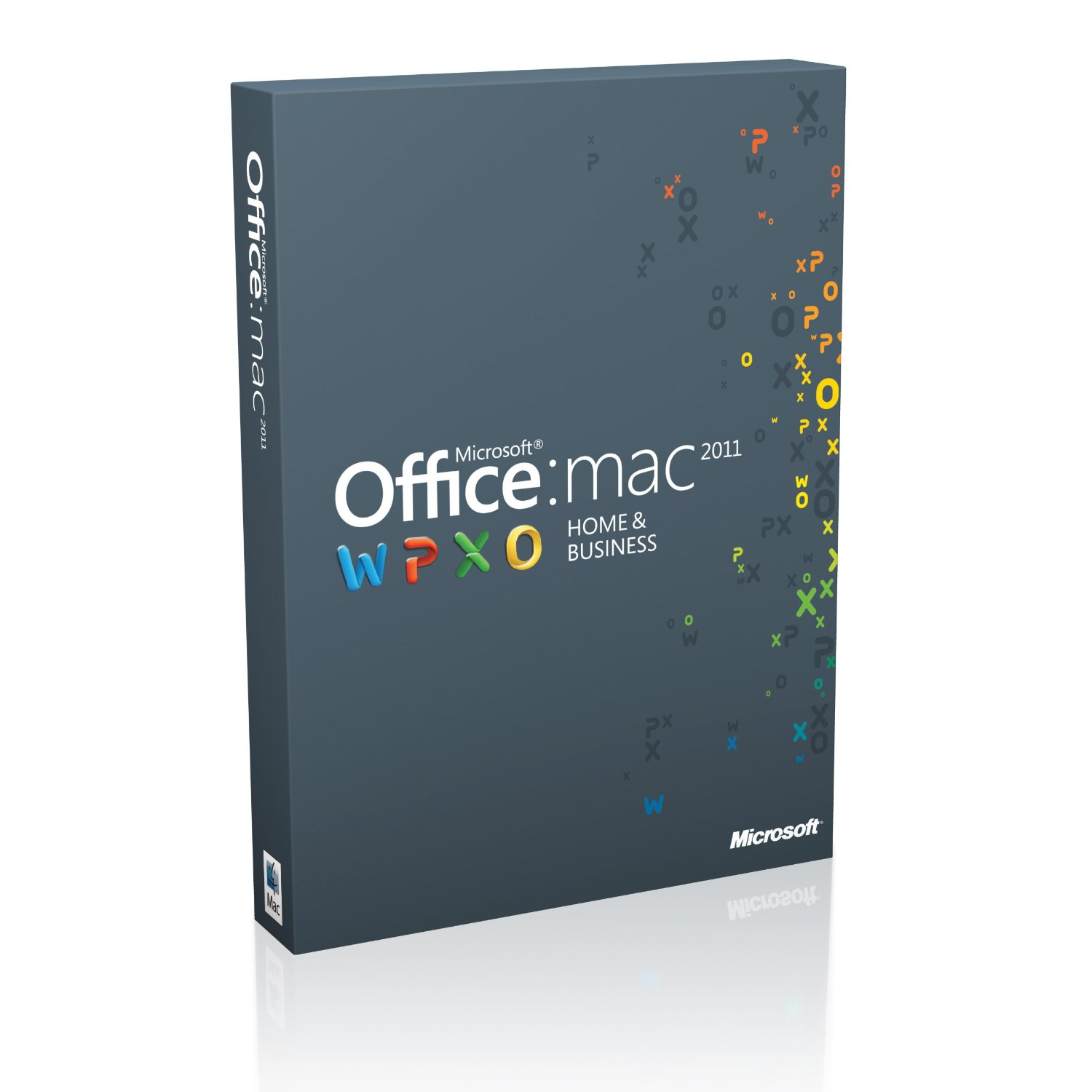 W6F-00202 Microsoft OFFICE 2011 HOME AND BUSINESS MAC MEDIALESS