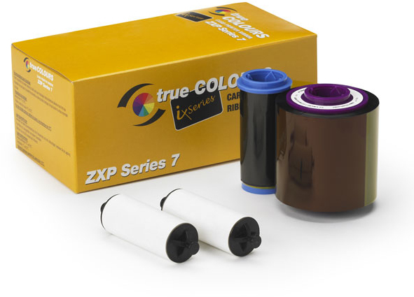 Zc All(non I Ser)multipanrbn-con Zxp7 Color Ribbon Ymcko             250 Images Per Roll                 800077-740em