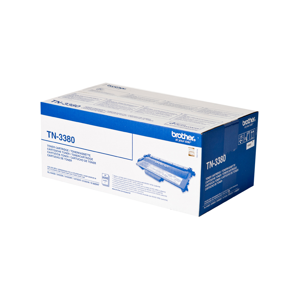 Tn3380 Brother Tn3380 Toner - WC01