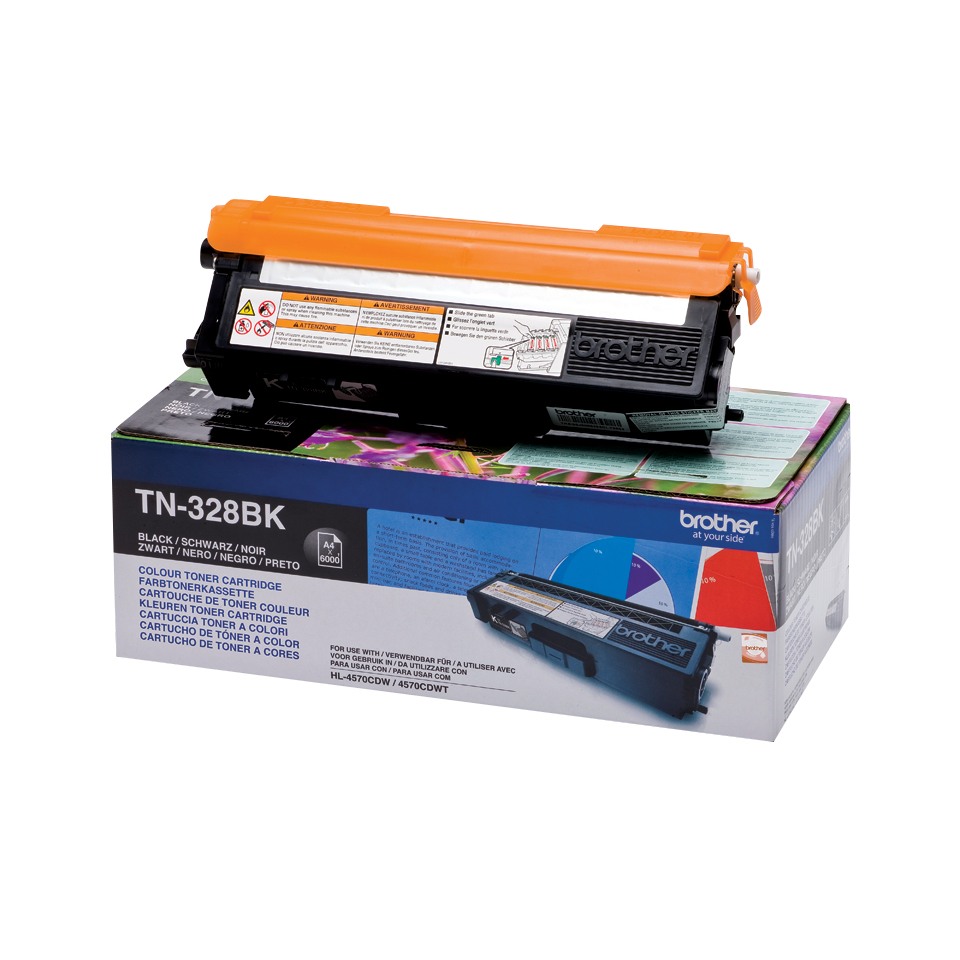 Tn328bk brother Mfc9970cdw/dcp9270 Black Toner 6k - AD01