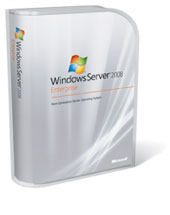 P72-02906 Microsoft WINDOWS 2008 ENTERPRISE SERVER 25 USER BOX