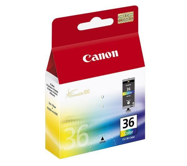1511b001 canon Canon Cli-36 Colour Ink Cartridge - AD01