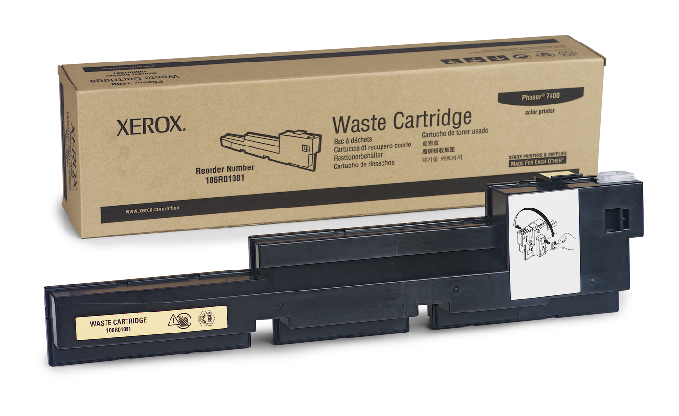 106r01081 Phaser 7400 Waste Toner Cartridge - WC01