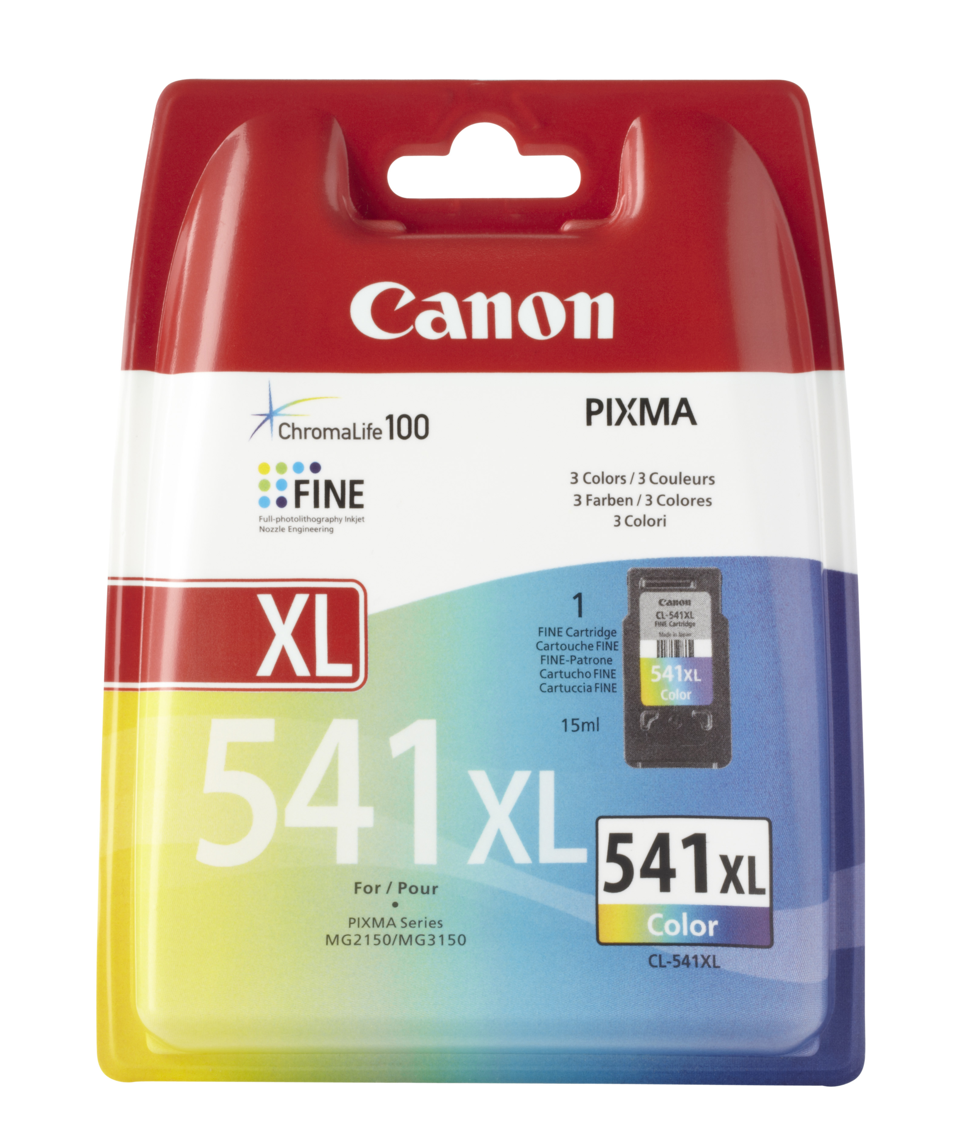 Print Cartridge - 1 X Colour (cyan, Magenta, Yellow) - For PIXMA MG2250, MG3150, MG3250, MG4150, MG4250, MX375, MX395, MX435, MX455, MX515, MX525 5226B005 - C2000