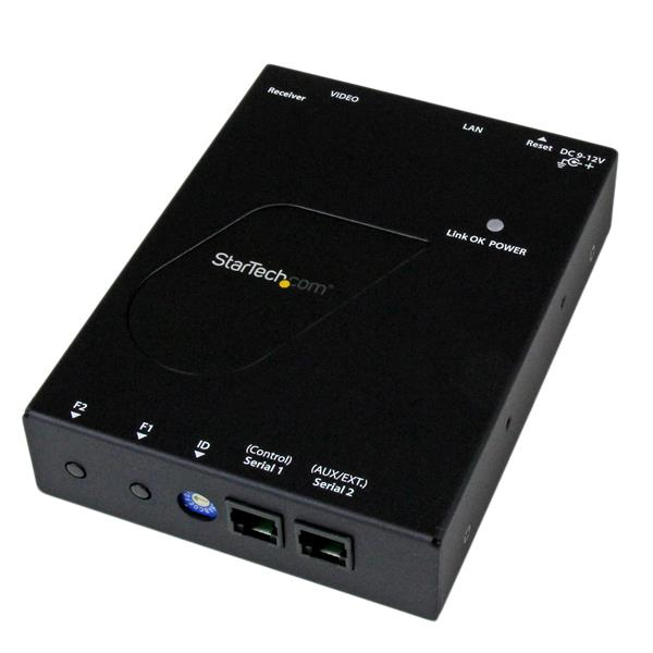 St12mhdlanrx Startech.com Hdmi Video Over Ip Gigabit Lan Ethernet Receiver For St12mhdlan - 1080p - Ent01