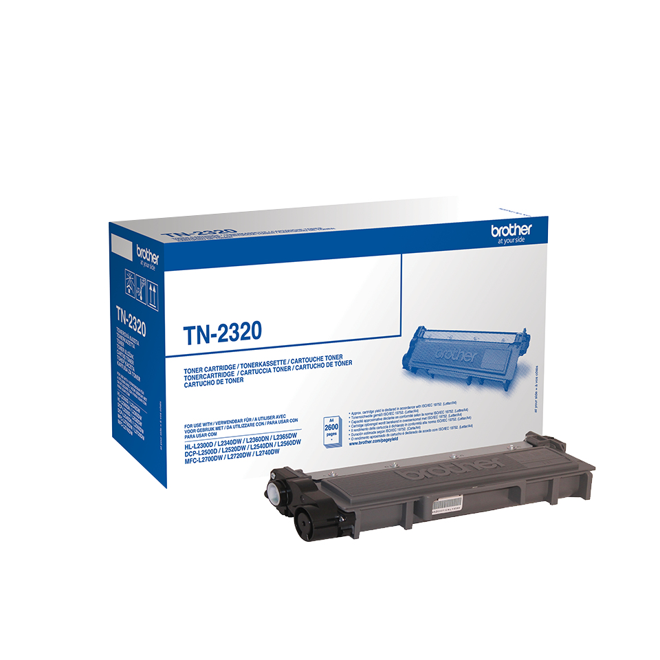 Brother Tn-2320 Black Toner Cartridg Tn2320 - WC01