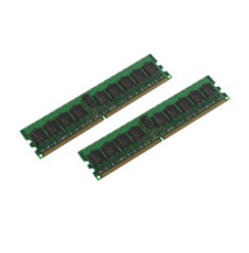 MicroMemory 2GB KIT DDR2 400MHZ ECC/REG KIT OF 2x 1GB DIMM MMH3057/2048 - eet01