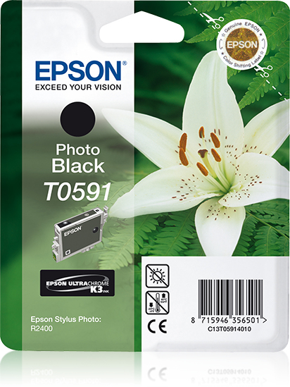 C13t05914010 epson Stylus R2400 Photo Black Ink Cart - AD01