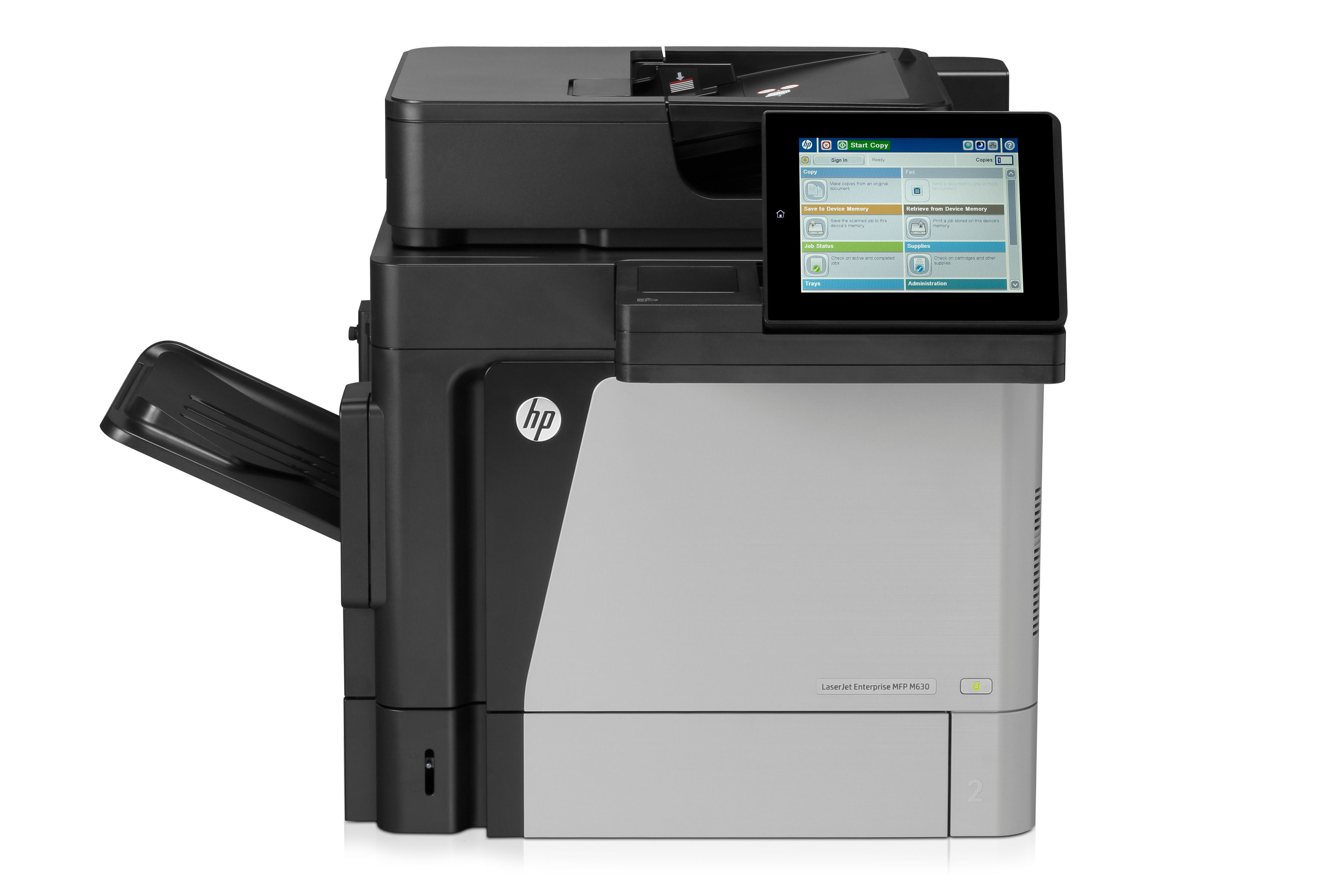 HP/ M630h/ A4/ Mono/ 60ppm/ Network/ Duplex/ 320GB HDD J7X28A Exdemo (A1 Condition) - Graded