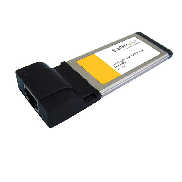 Ec1000s Startech.com 1 Port Expresscard Gigabit Laptop Ethernet Nic Network Adaptor Card - Ent01