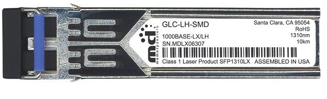Cisco - Accessories              1000base-lx/lh Sfp Transceiver      Module  Mmf/smf  1310nm  Dom     En Glc-lh-smd=