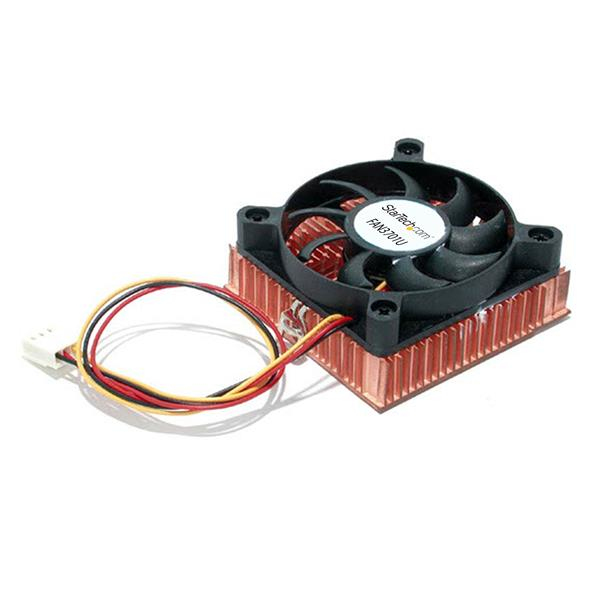 Fan3701u Startech.com 1u 60x10mm Socket 7/370 Cpu Cooler Fan With Copper Heatsink And Tx3 - Ent01