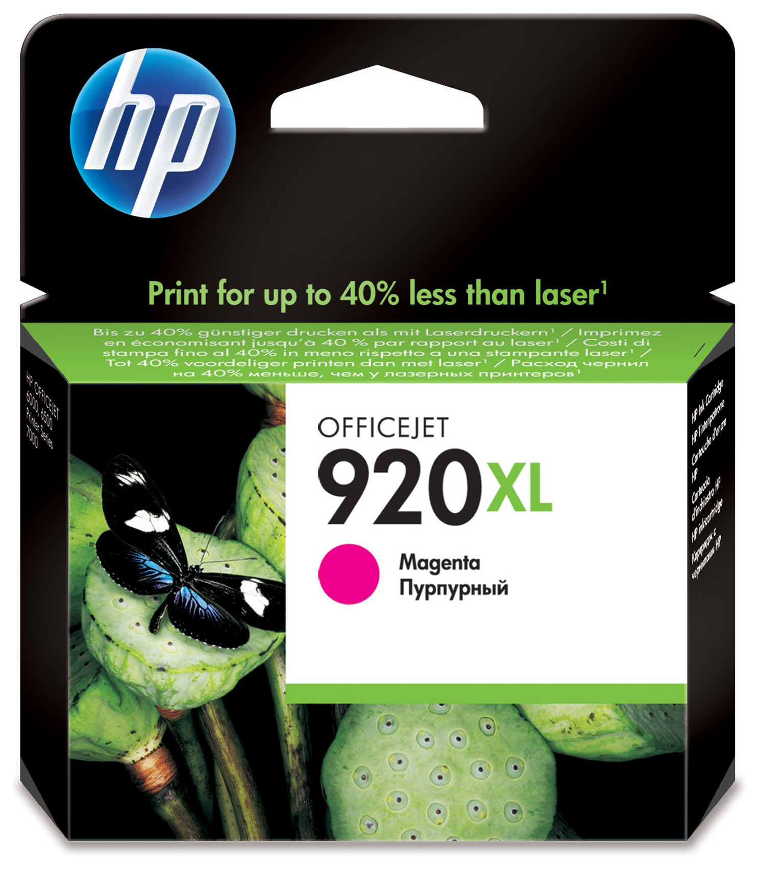 Cd973ae HP Hp 920xl Magenta Ink Cartridge - AD01