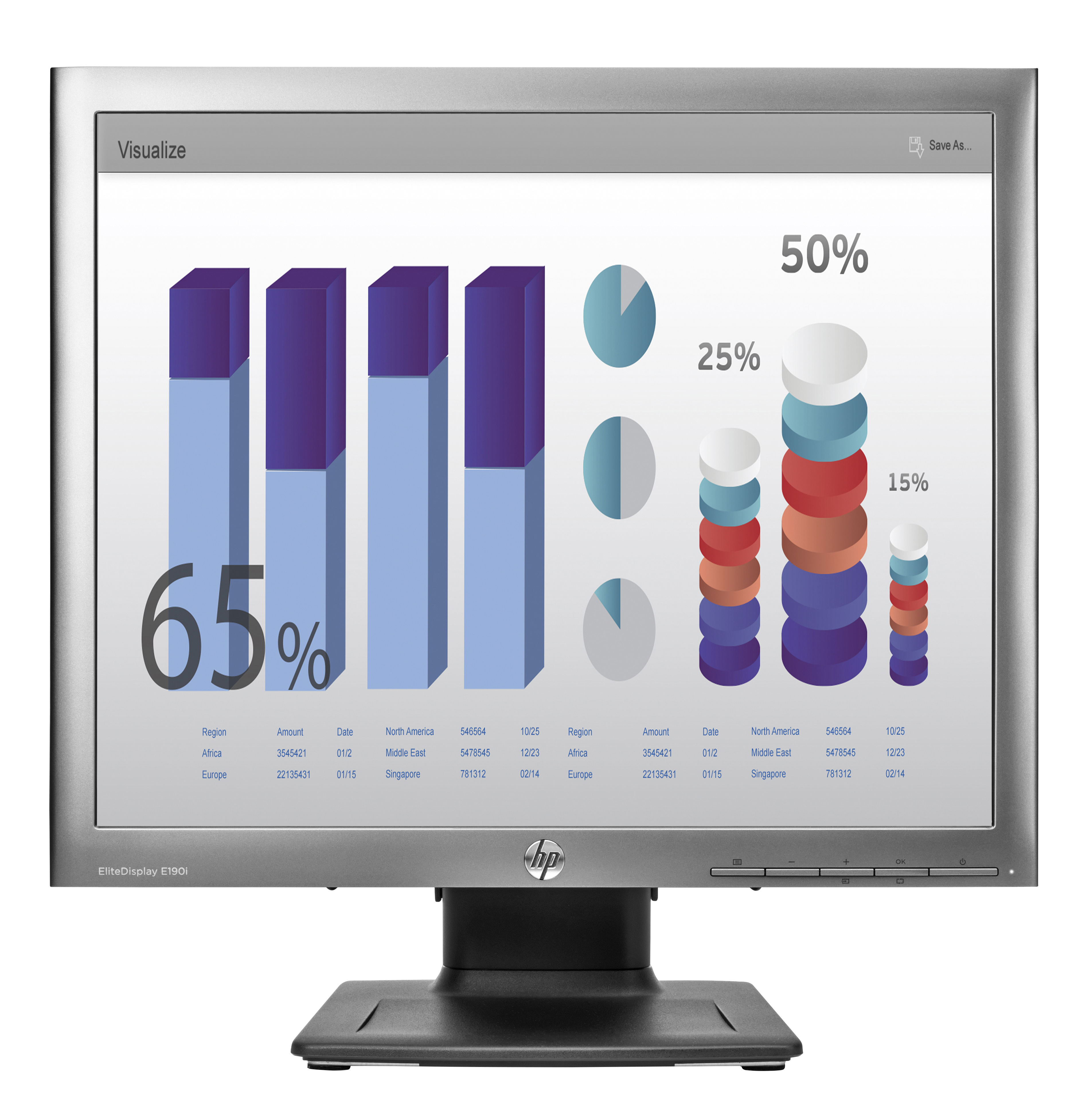 HP EliteDisplay E190i LED Monitor United Kingdom E4U30AT#ABU - C2000