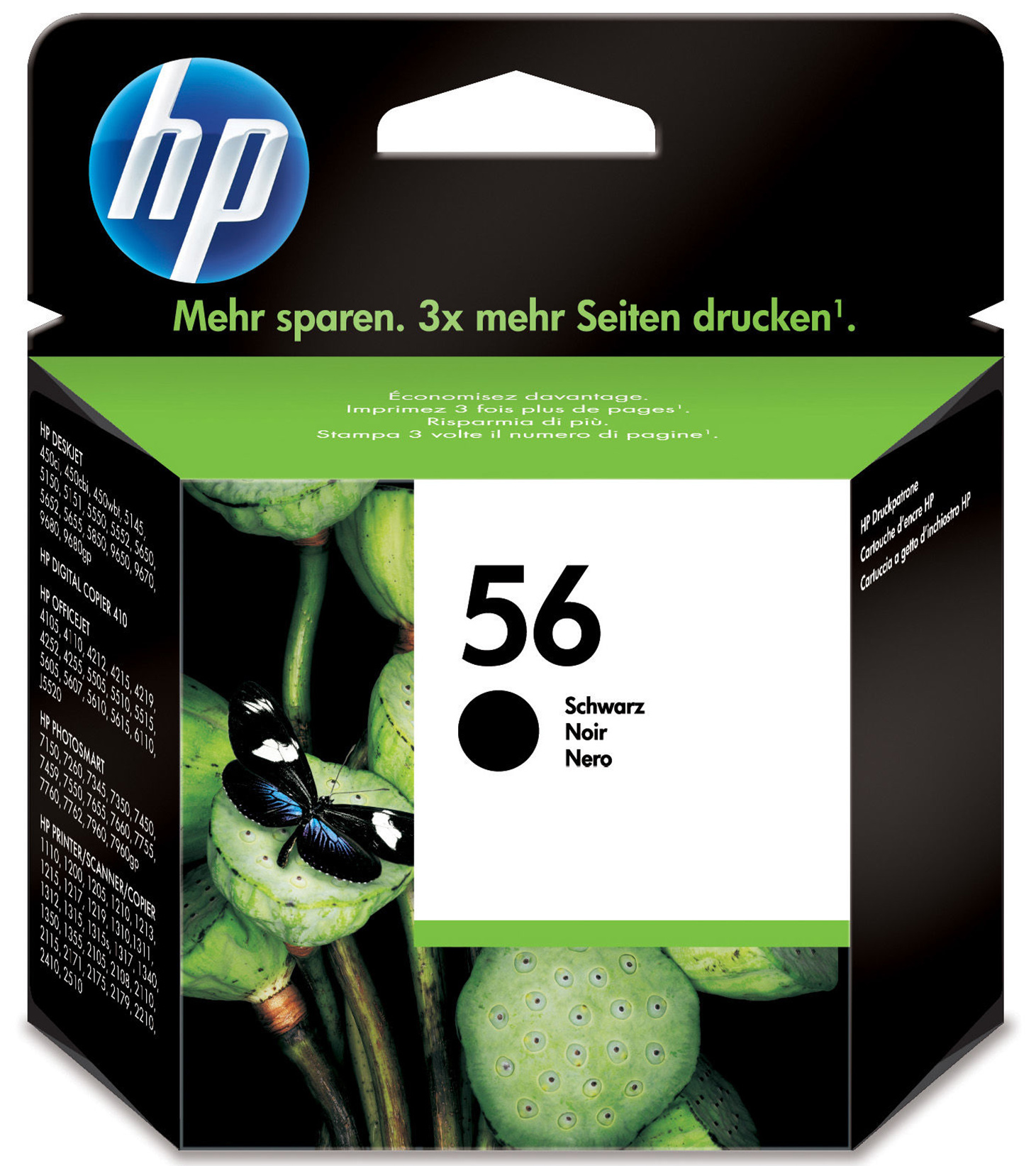 C6656ae HP Black Ink Cart 7150/7350 No.56 - AD01
