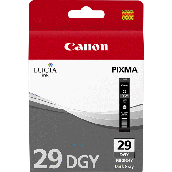 Canpgi-29dg    Canon Pgi-29 Dark Grey Ink     Photo                                                        - UF01