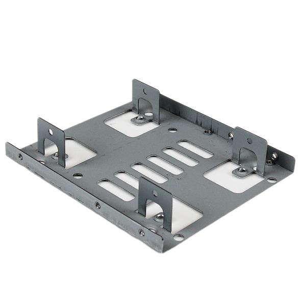 Bracket25x2 Startech.com Dual 2.5 Inch Sata Hard Drive To 3.5 Inch Bay Mounting Bracket - Ent01