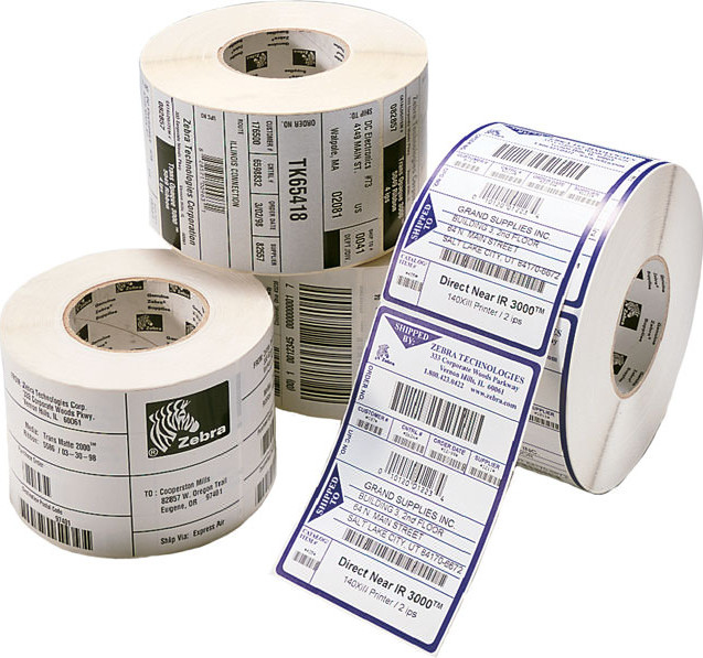 Zebra - Supplies Zipship Labels  Z-slct 2000t 102x152mm              475 Lbl/roll Perfo Box Of 12        3006322