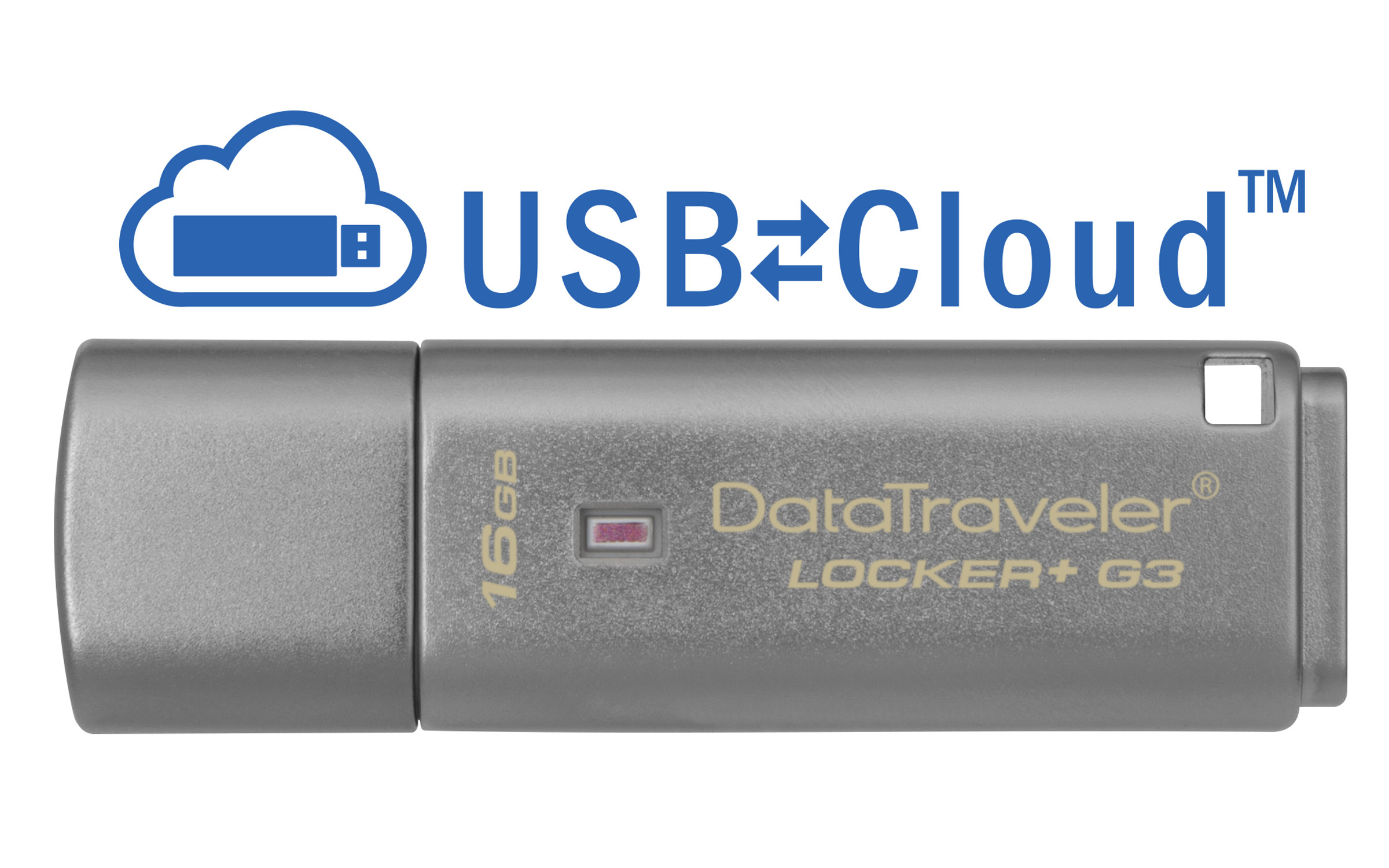 Kingston - Digital Media Product 16gb Usb3.0 Dt Locker               G3 W/automatic Data Security        Dtlpg3/16gb