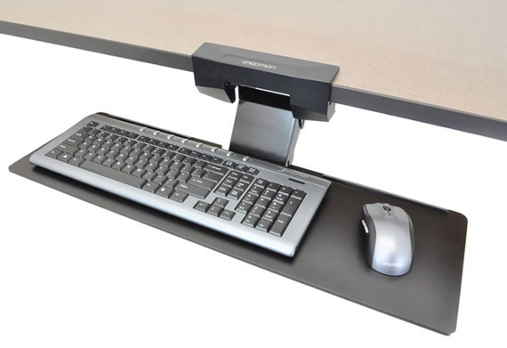 Ergotron 97-582-009 Neo-Flex Under Desk Keyboard Arm 97-582-009 - C2000