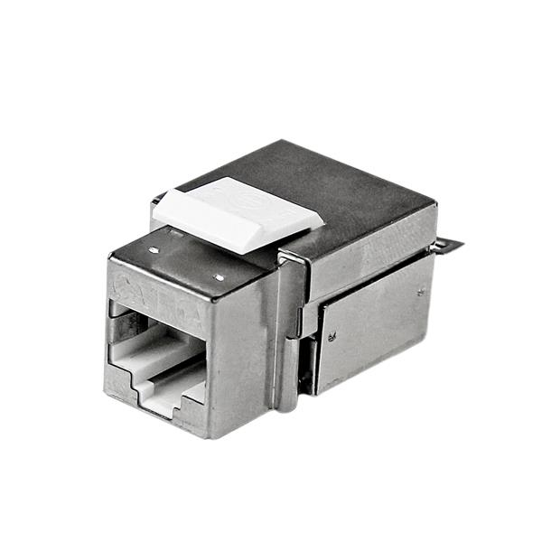 C6akey110wh Startech.com Shielded Cat 6a Keystone Jack - Rj45 Ethernet Cat6a Wall Jack White - 110 Type - Ent01