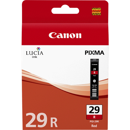 Canpgi-29r     Canon Pgi-29 Red Ink           Cartridge                                                    - UF01